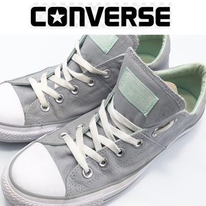 Converse Gray And White Sneakers Womens 10